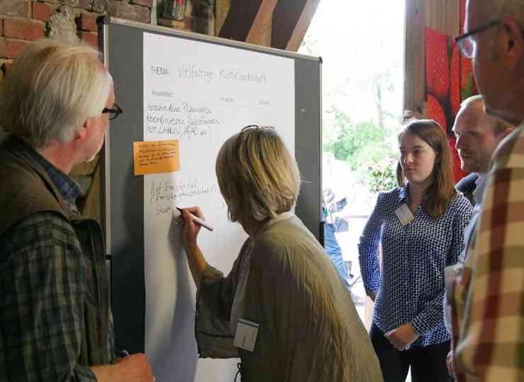 CoProGrün: Ideenbörse Aktionsstand