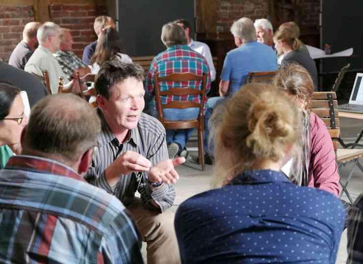 CoProGrün: Ideenbörse Gesprächsrunde