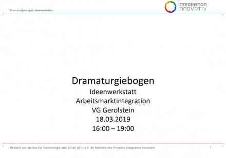 Dramaturgiebogen Ideenwerkstatt
