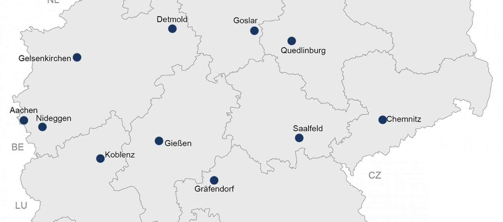 Nationale Projekte des Städtebaus 2021, © BBSR Bonn