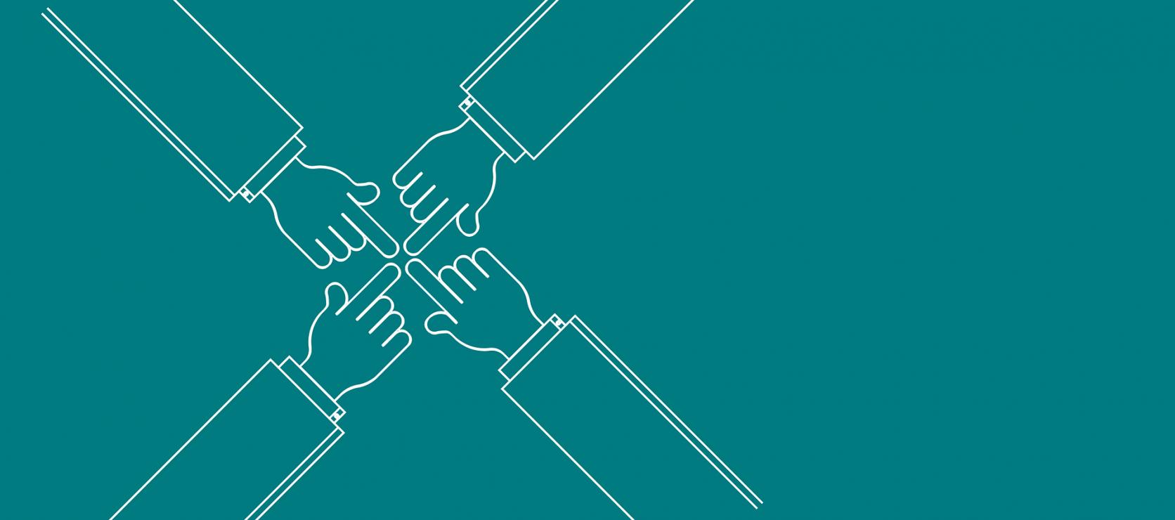 Zusammenarbeit © pixabay, geralt